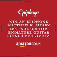 Win an Epiphone Matthew K. Heafy Les Paul Custom Signa