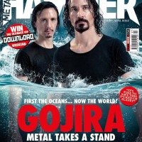 Gojira take over the cover of Metal Hammer!