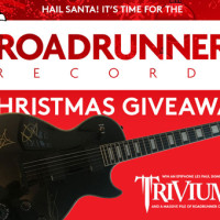 Win a Matt Heafy custom guitar signed by all of Trivium and a massive bundle of Roadrunner CDs