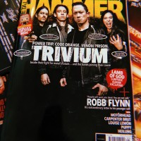 TRIVIUM AND CODE ORANGE ON THE COVER OF METAL HAMMER!!