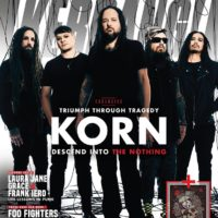 Korn on the cover of Kerrang!